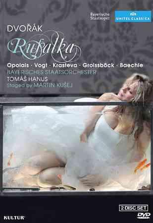 DVORAK:RUSALKA BY OPOLAIS,KRISTINE (DVD)