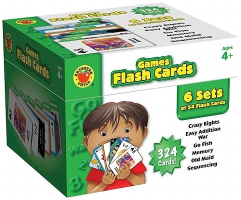 Games Flash Cards By Carson-dellosa Publishing (COR)